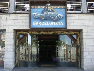 Barceloneta。