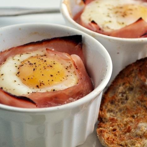baked-eggs-ham