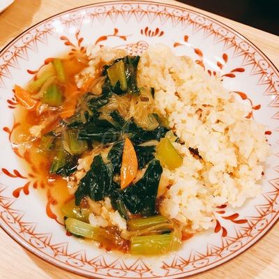 野菜あんかけチャーハン