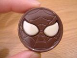 スパイダーマンのチョコ