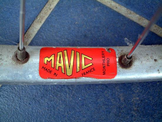 中年martyの自転車日記:マビック ...