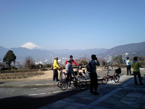 第一生命から富士山