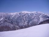 山毛欅尾山より白山