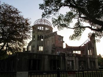 171203原爆ドーム
