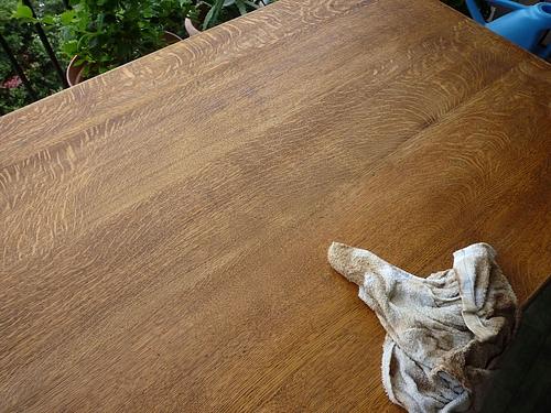テーブル塗り替え 8