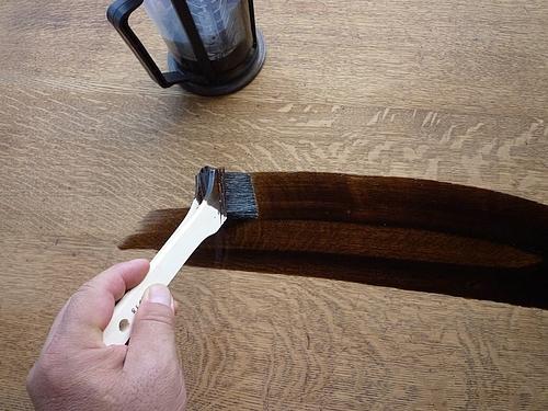 テーブル塗り替え 5