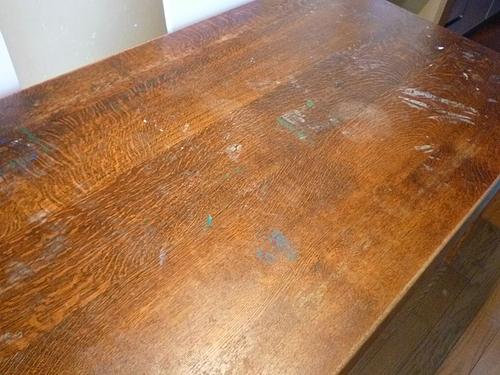 テーブル塗り替え 1