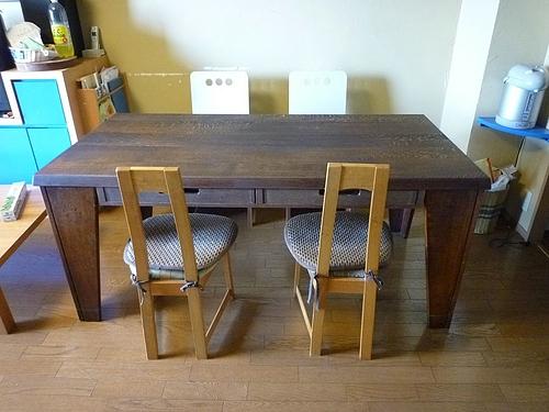 テーブル塗り替え 2