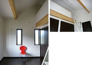 ロフト&寝室
