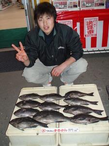 スタッフ横尾、釣果写真2