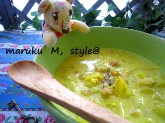 押麦スープ1ミニ