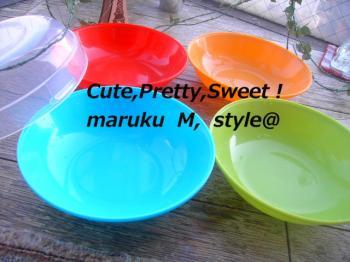 4色お皿ブログ