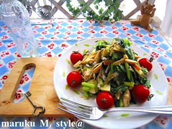 小松菜サラダ3ミニ
