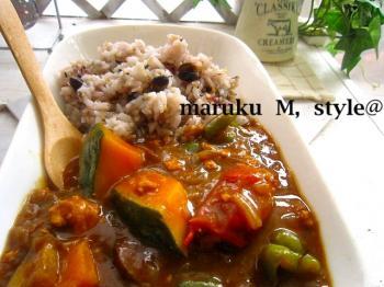 野菜カレーアップ1ミニ