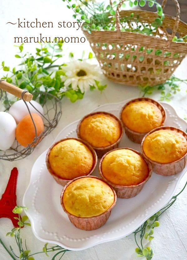 卵が分離しない♪基本のカップケーキ&インスタ映えのフラワーケーキ