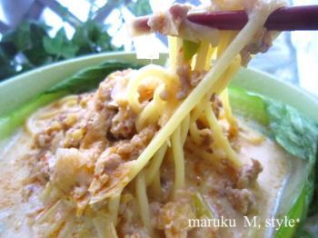 豆乳タンタン麺1m