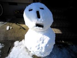 雪だるま1m