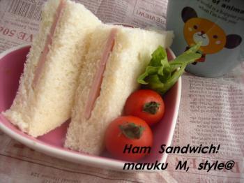ハムチーズサンドミニ