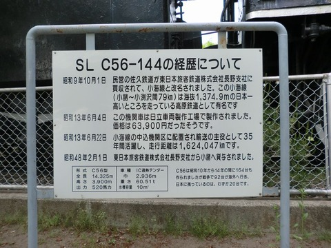 SL_C56-144の経歴について
