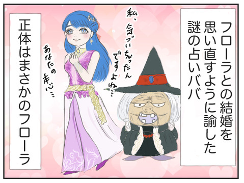 ドラゴンクエストユアストーリー・フローラと占いババ