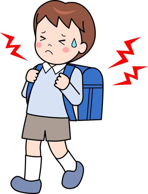 【教育新聞】小学生のかばんが重たすぎる問題。「置き勉」してもよい学校が増えている