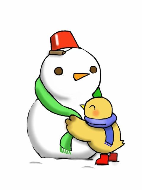20130120_雪だるま