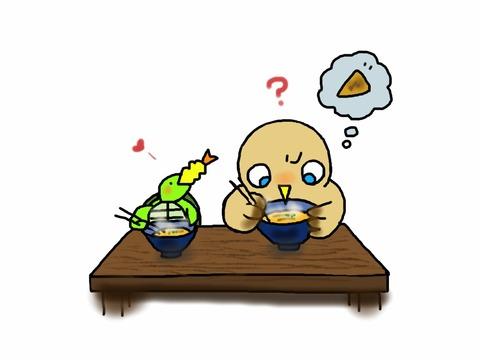 20121031_うどん屋にて:ワイルドバージョン(笑)