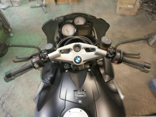 BMW K1300R ハンドル