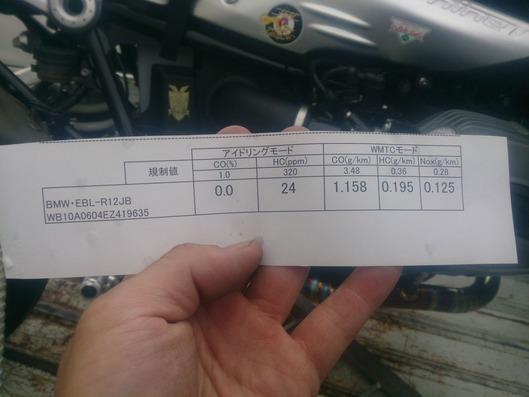 予備ガス検数値