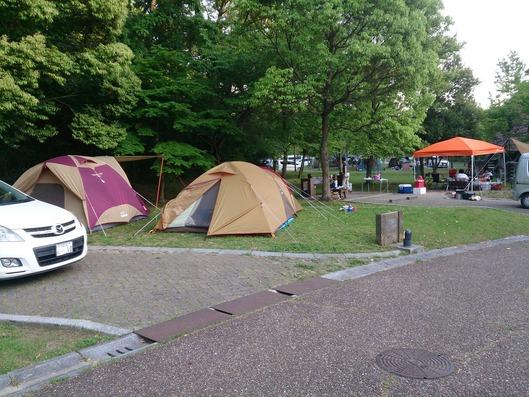 しあわせの村のキャンプサイトは、でかい!!