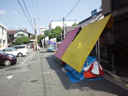 清見原神社の縁日