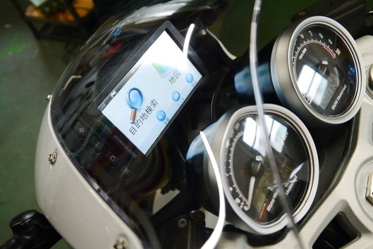 BMW RnineT Racer ナビゲーションステー