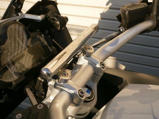 BMW R1200GS ナビゲーションステー