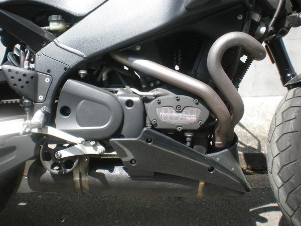 ビューエル XB12ss ワンオフマフラー製作