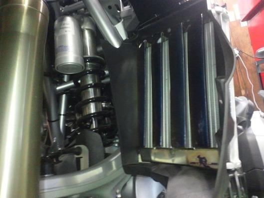 BMW R1200GS ラジエターコアガード