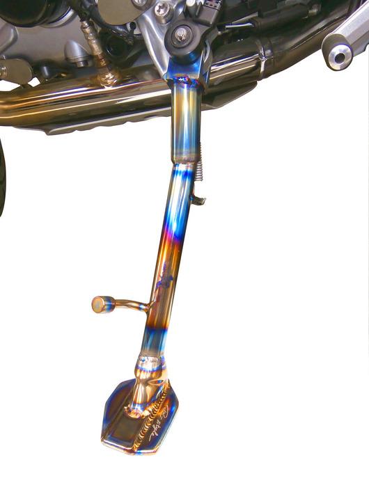 BMW R1200GS チタン・ハイサイドスタンド
