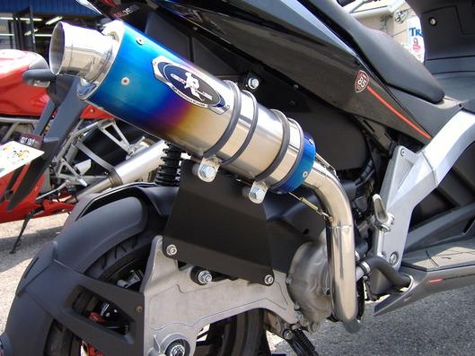 DERBI GP-1 250i レアルパイソンマフラー
