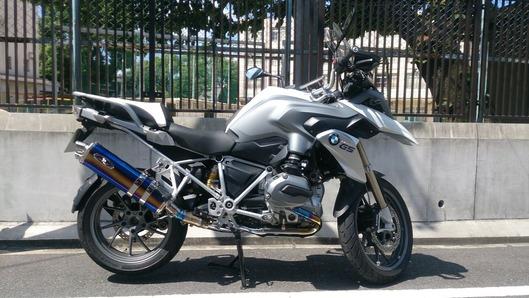 BMW R1200GS LC スリップオンマフラー