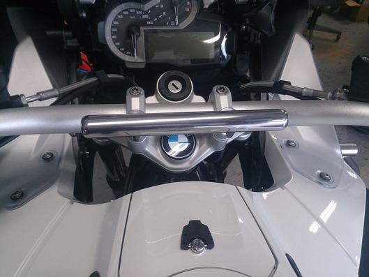 BMW R1200GS ADV ナビゲーションステー