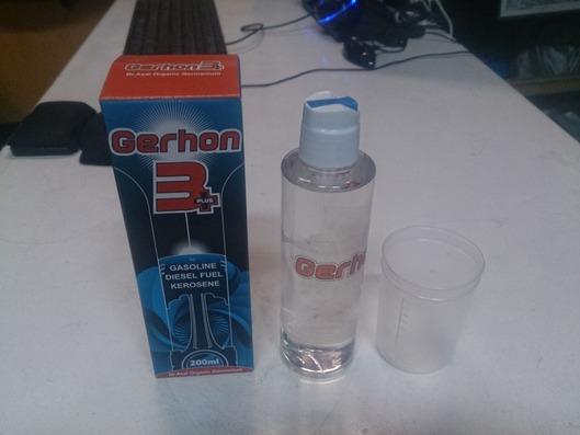 燃料添加剤「ゲルホーン」3+