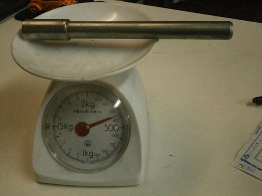ノーマルアクスルシャフト重量