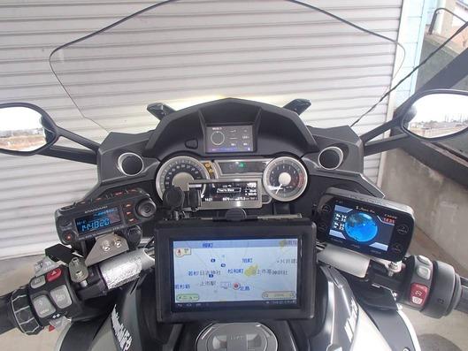BMW K1600GTL ナビゲーションステー