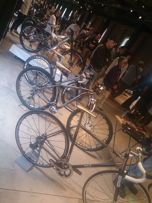 オーガ チタン自転車