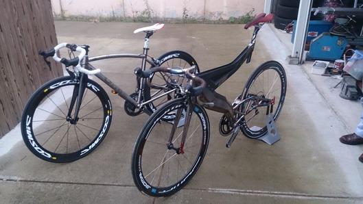 ORGE 小西氏のオールハンドメイド自転車