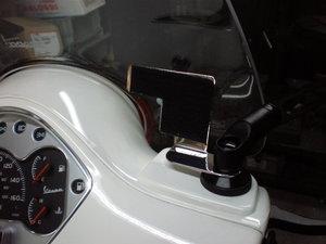 べスパ GTS300ie ナビゲーションステー