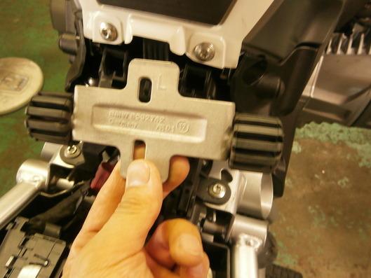 BMW R1200GS ローダウントルクロッド