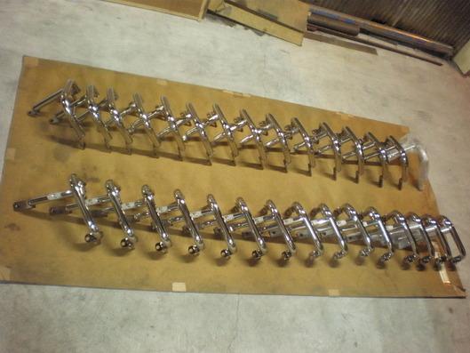 BMW K1600 エンジンガード 出荷前の製品達