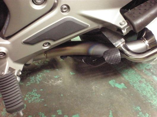 BMW K1600GTL ワンオフマフラー