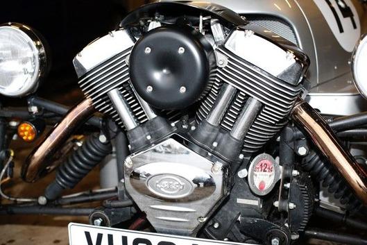 3wheelerのエンジン