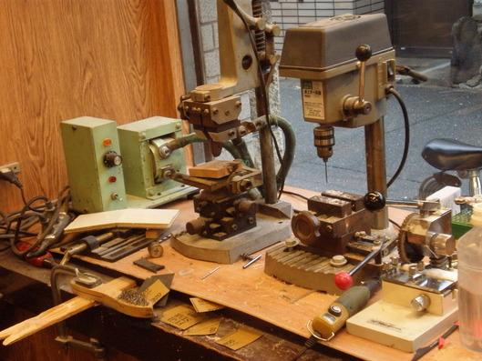 glass tailor(グラステーラー)にある機械たち
